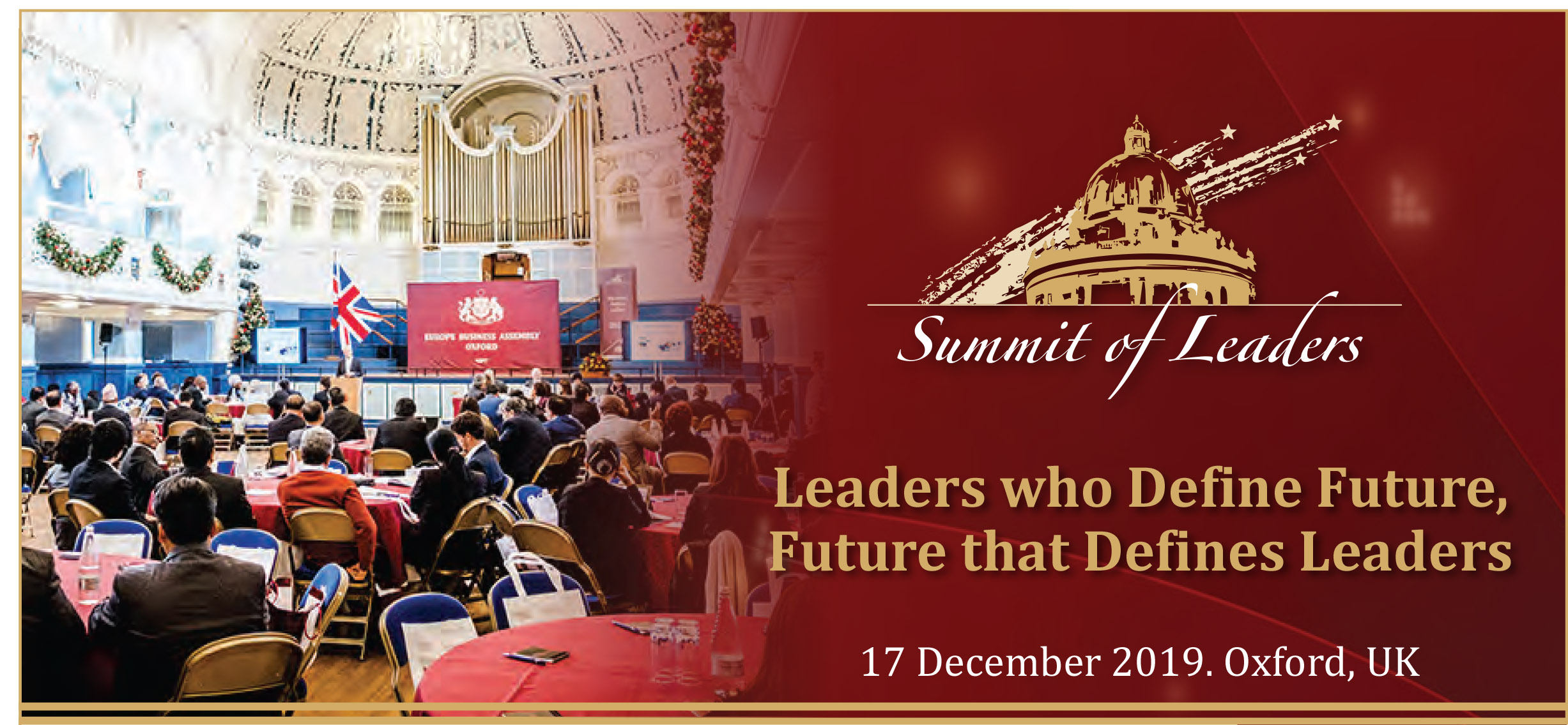 Summit of Leaders – 2019 'Leaders who Define Future, Future that Defines Leaders'