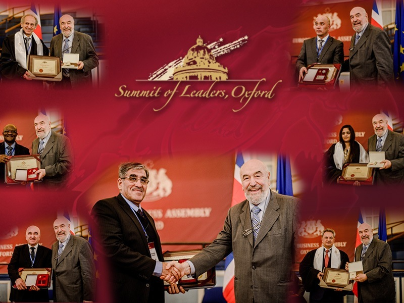 AU members, Oxford Summit